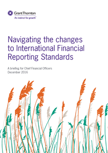 Navigating the changes to IFRS